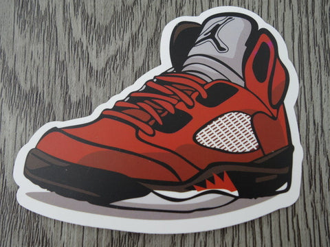 Air Jordan 5 sticker - Design H
