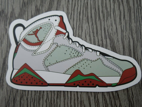 Air Jordan 7 sticker - Design G