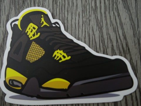 Air Jordan 4 sticker - Design K
