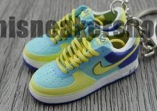 mini sneaker keychains Air Force 1 Easter edition (2006)