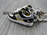 mini sneaker keychains Air Force One Mr Cartoon x Nike