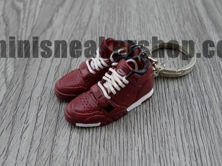mini 3D sneaker keychains Air Trainer 1 Brunnet (2003)