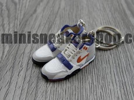 mini 3D sneaker keychains Air Trainer 1 NYC