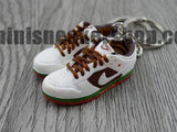 mini sneaker keychains Nike Dunk Low Pro SB-  California (2004)