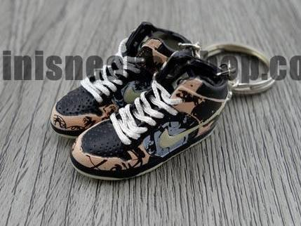 mini sneaker keychains Nike Dunk Pro High SB-  Unkle Dunkle (2004)