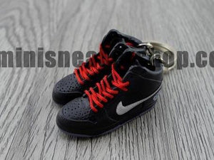 mini sneaker keychains Nike Dunk High Pharell (2005)