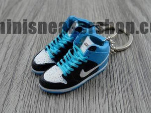 mini sneaker keychains Nike Dunk Pro High SB-  Send Help (2006)