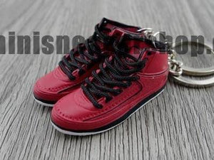 Mini Sneaker Keychains Air Jordan 2 - Candy Pack (2010)