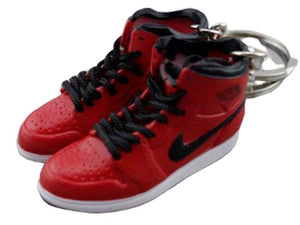 mini sneaker keychain 3D Air Jordan 1 Gym Red