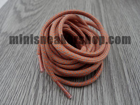 Trainer laces - 3M - Orange Grey