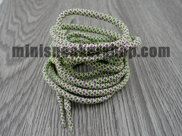Trainer laces - 3M - Green Purple