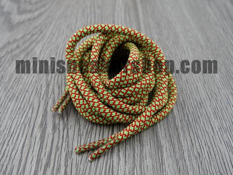 Trainer laces - 3M - Green Red