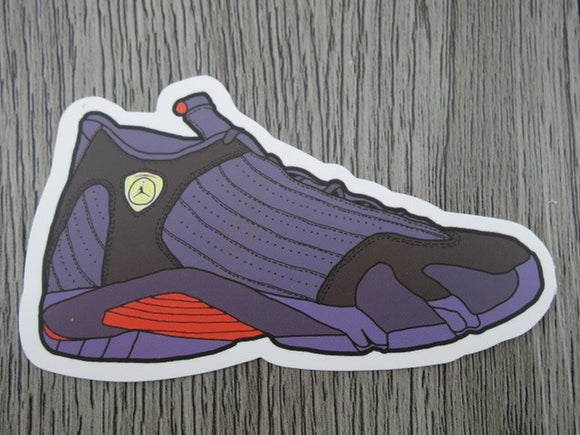 Air Jordan 14 sticker - Design A