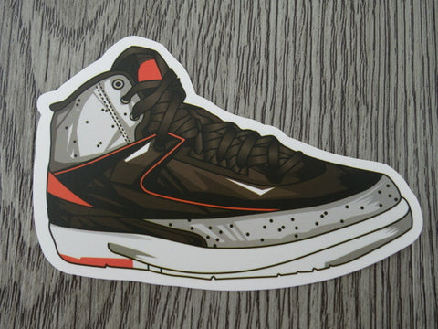 Air Jordan 2 sticker - Design D