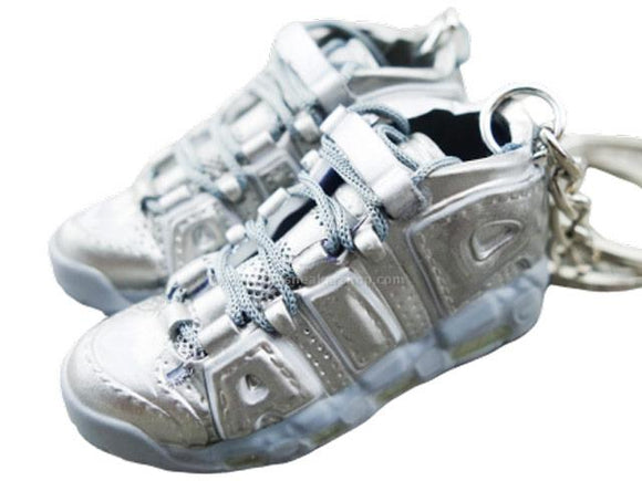 Mini 3D sneaker keychains Air Up Tempo  - SILVER