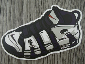 Air Up tempo sneaker sticker - design B