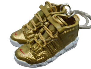 Mini 3D sneaker keychains Air Up Tempo - GOLD