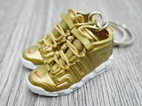 Mini 3D sneaker keychains Air Up Tempo  X SUPREME - GOLD