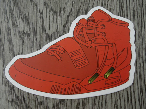 YEEZY sneaker sticker - design F