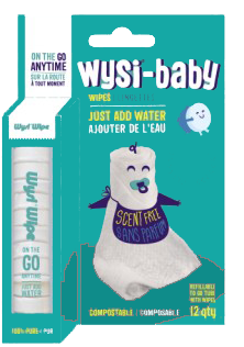 Wysi Wipe Baby Go Tube