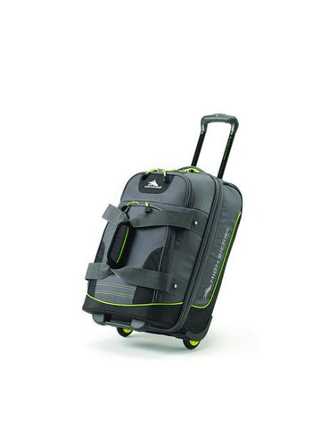 High Sierra Break Out Travel Collection Carry On Wheeled Duffle