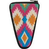 Needlepoint Stitch & Zip Scissor Case