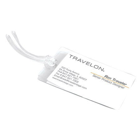 Set Of 3 Self Laminating Luggage Tags
