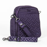Lug Flapper Cross-Body Bag