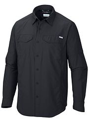 Columbia Mens Silver Ridge Long Sleeve Shirt