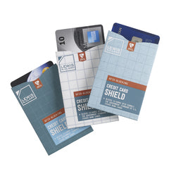 RFID Credit Card Shield 3-Pack