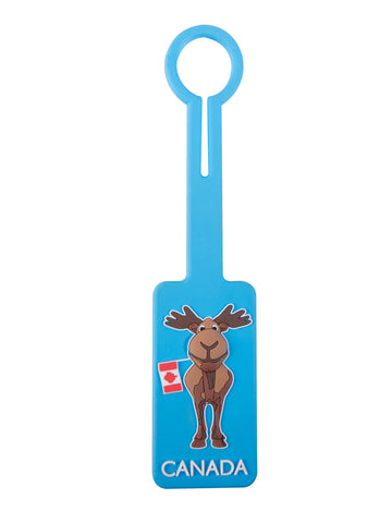 Moose Canada Luggage Tag