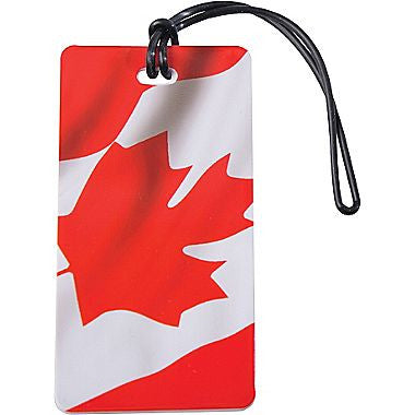 Canada Flag Luggage Tag