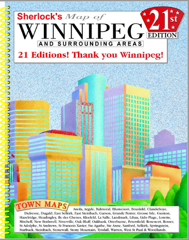 Sherlock Winnipeg City Map