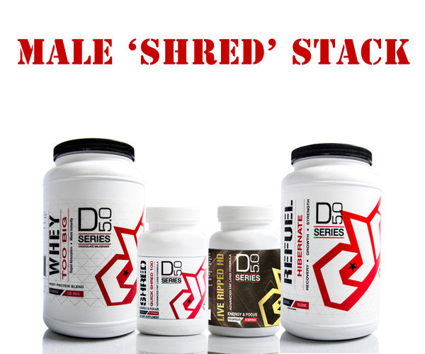 Male SHRED Stack