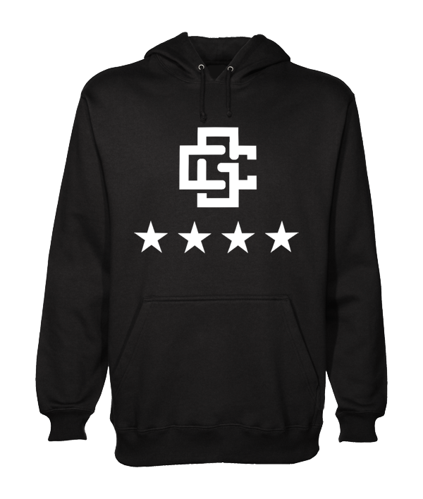 The GAINSCo BLACK Hoodie