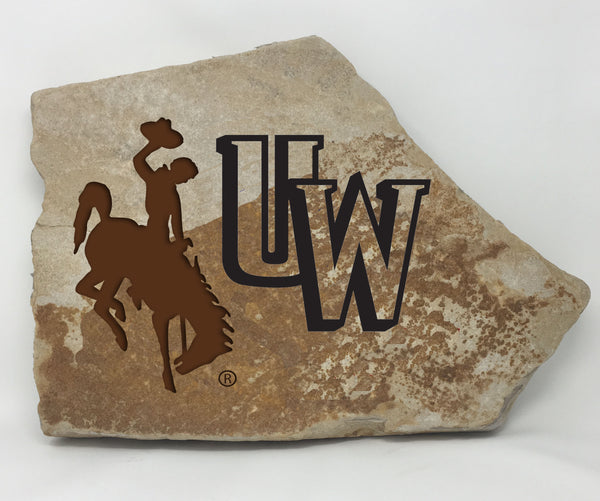 Wyoming Cowboys Flagstone FanRock®