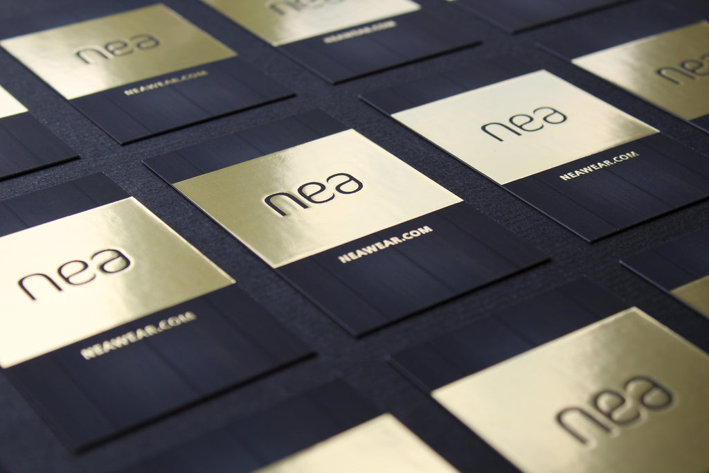 New business cards nea nea business cards colourmoves