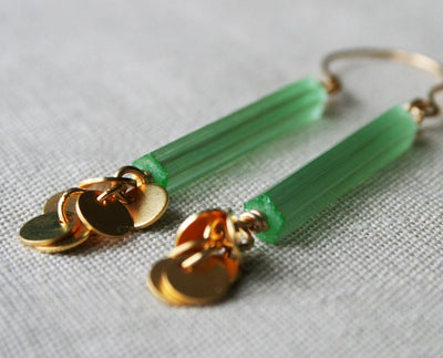 Jade Earrings - Nea - 2