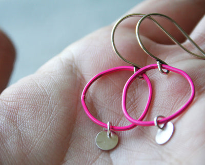 Topo Earrings 4 · Pink - Nea - 1