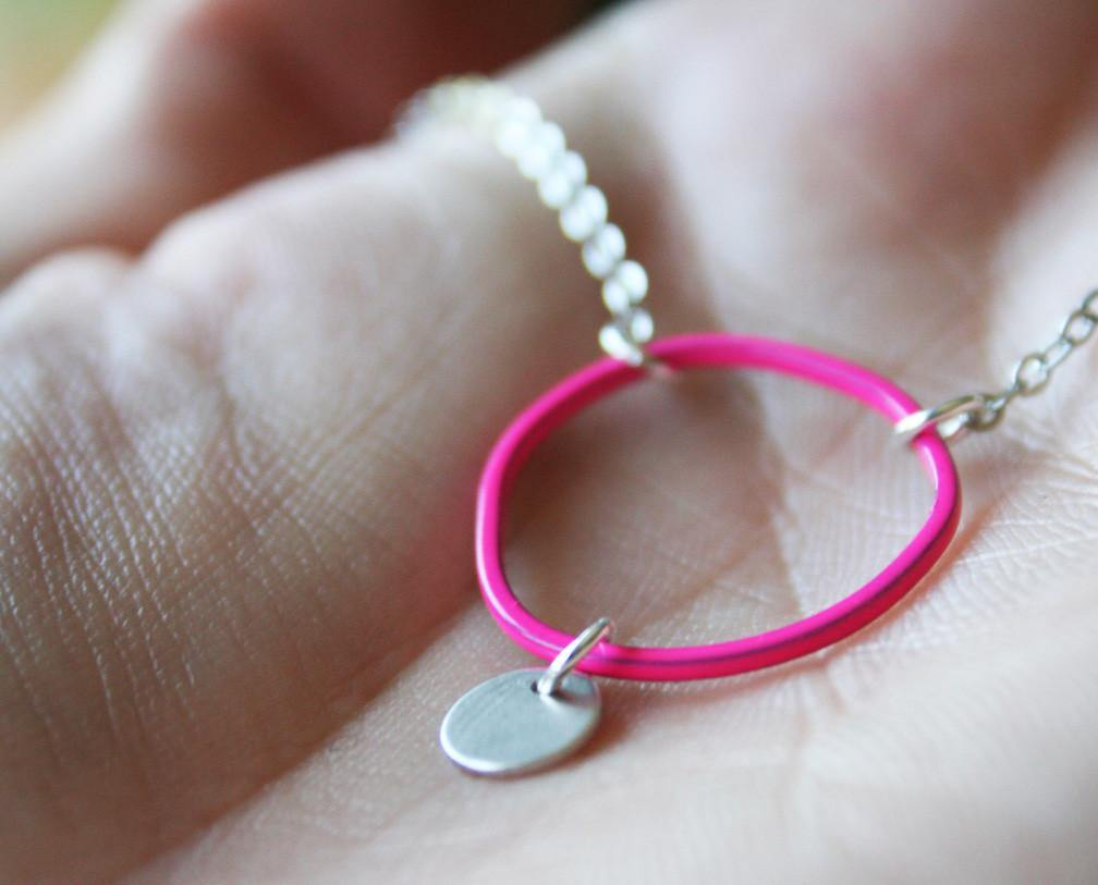 Topo Necklace 4 · Pink - Nea - 1