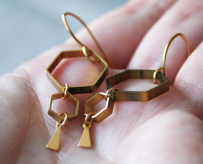 Ruche Earrings - Nea - 2