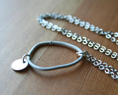 LAST ONE Topo Necklace 4 · Light Grey - Nea - 2