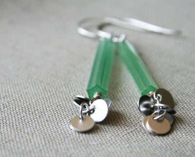 Jade Earrings - Nea - 5