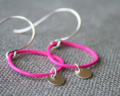 Topo Earrings 4 · Pink - Nea - 2