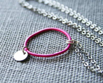 Topo Necklace 4 · Pink - Nea - 2