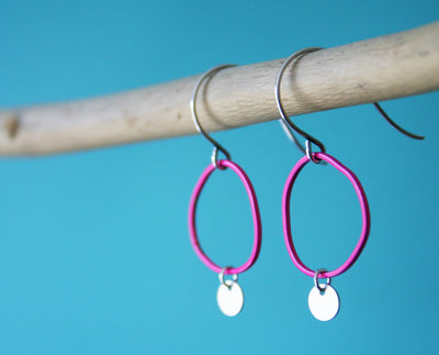 Topo Earrings 4 · Pink - Nea - 3