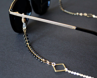 Kalea Sunglasses Chain Black
