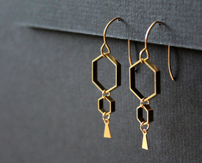 Ruche Earrings