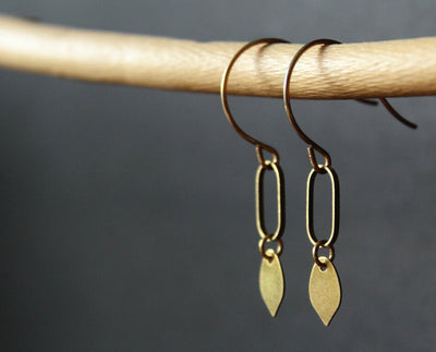 Petiole Earrings