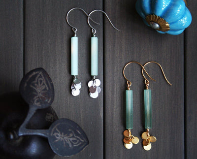 Jade Earrings - Nea - 1